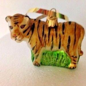 Other - Tiger Ornament  Christmas Gift Animal Safari New